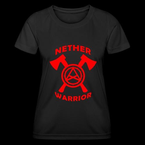 Nether Warrior T-shirt - Maglietta sportiva per donna