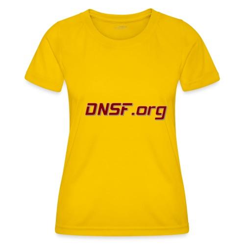 DNSF t-paita - Naisten tekninen t-paita