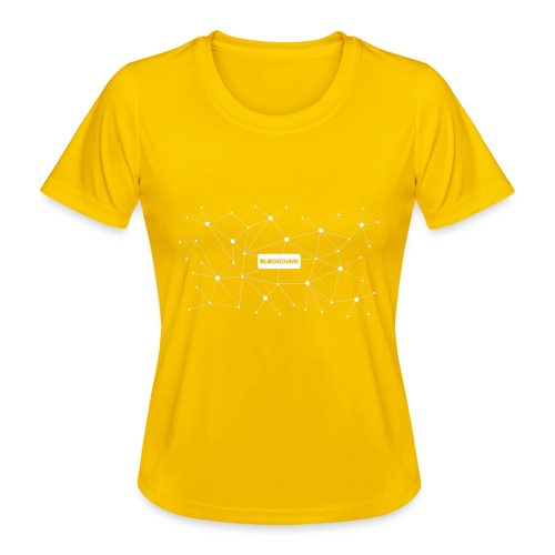 Blockchain - Frauen Funktions-T-Shirt