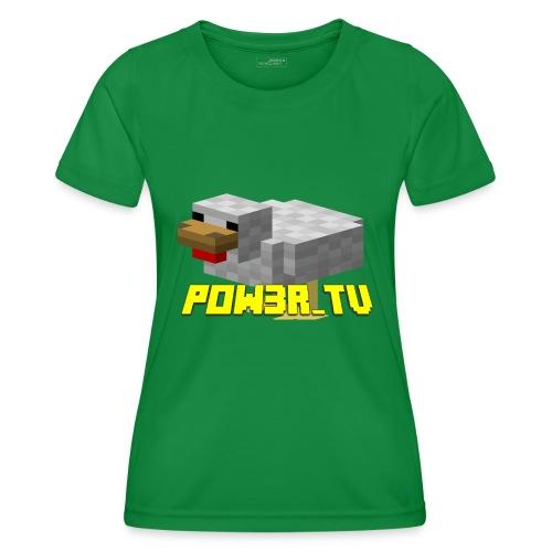POW3R-IMMAGINE - Maglietta sportiva per donna