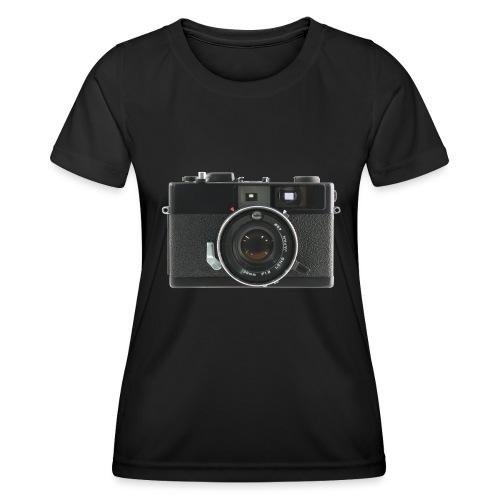 Vintage Camera Auto S3 - Maglietta sportiva per donna