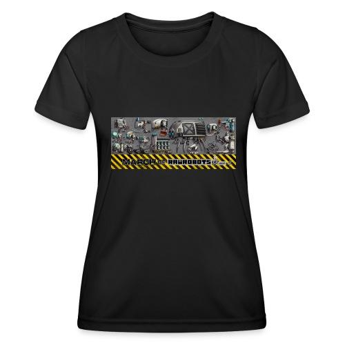 #MarchOfRobots ! LineUp Nr 1 - Funktionsshirt til damer