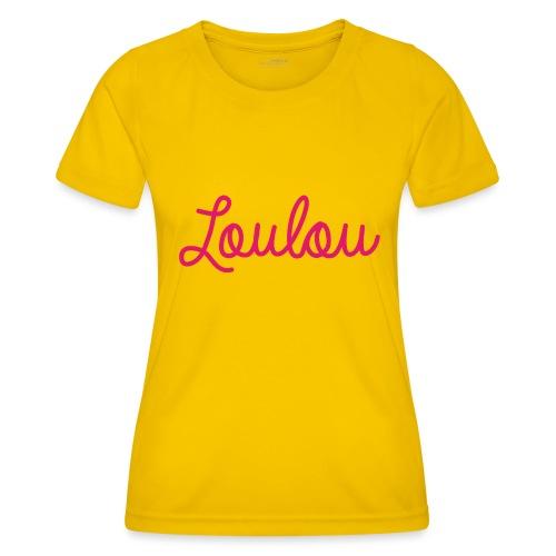 Logo-Roze - Functioneel T-shirt voor vrouwen