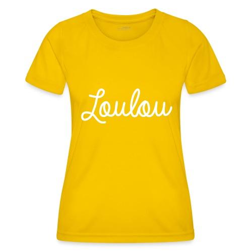 Logo-Wit - Functioneel T-shirt voor vrouwen
