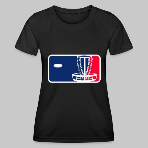 Major League Frisbeegolf - Naisten tekninen t-paita