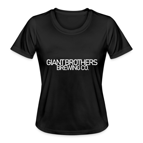 Giant Brothers Brewing co white - Funktions-T-shirt dam
