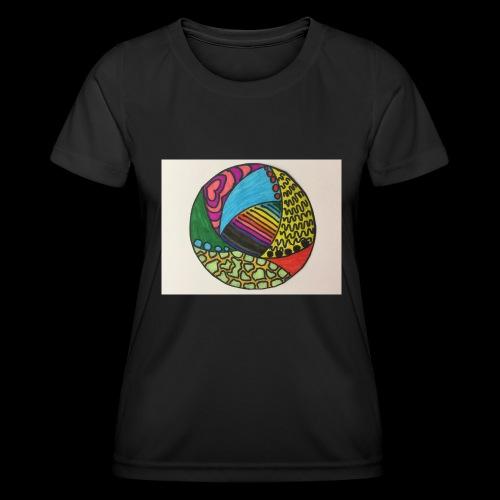 circle corlor - Funktionsshirt til damer
