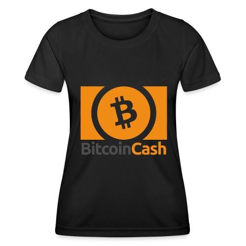 Bitcoin Cash - Naisten tekninen t-paita