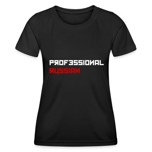 Professional Russian Blue - Functioneel T-shirt voor vrouwen