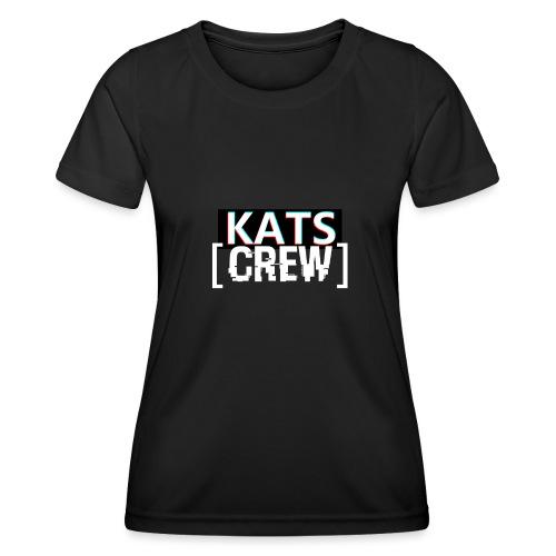 KATS CREW Logo - Funkcjonalna koszulka damska