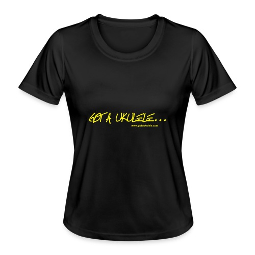 Official Got A Ukulele website t shirt design - Women's Functional T-Shirt