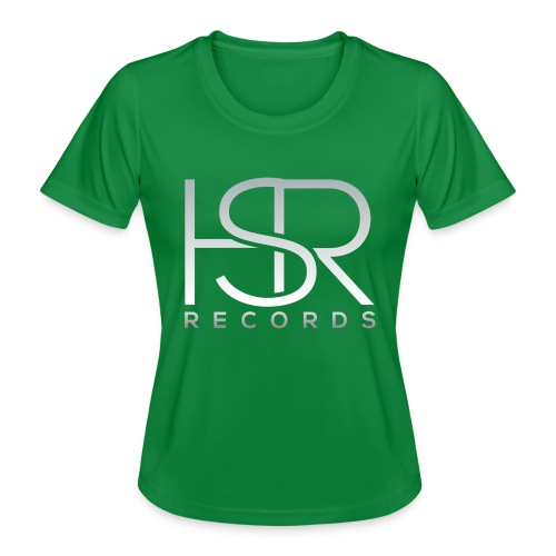 HSR RECORDS - Maglietta sportiva per donna