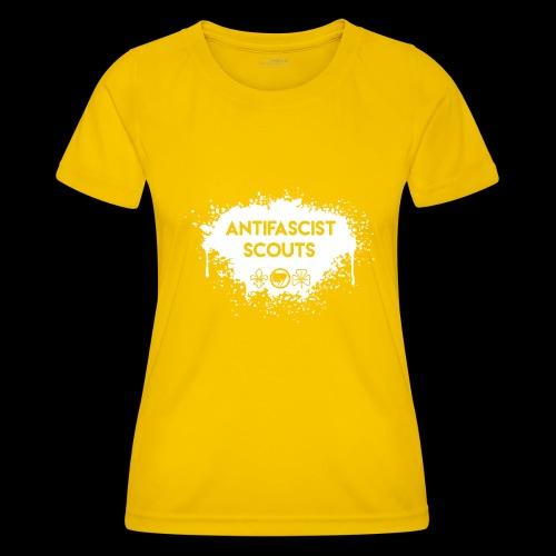 Antifascist Scouts - Women's Functional T-Shirt