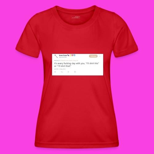 Ieuan Tweet - Women's Functional T-Shirt