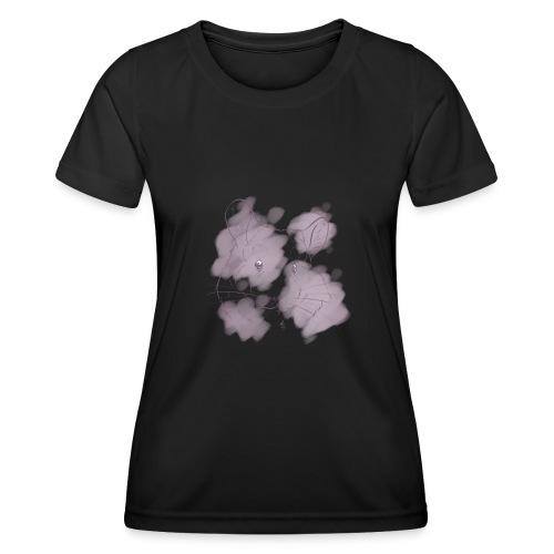 Violet splash chinchilla 2 - Naisten tekninen t-paita