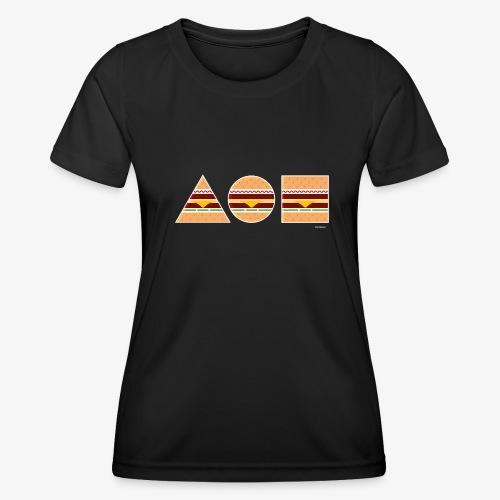 Graphic Burgers - Maglietta sportiva per donna