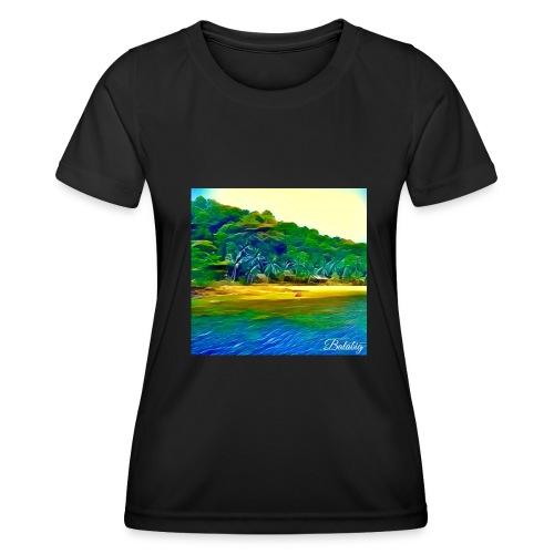 Tropical beach - Maglietta sportiva per donna