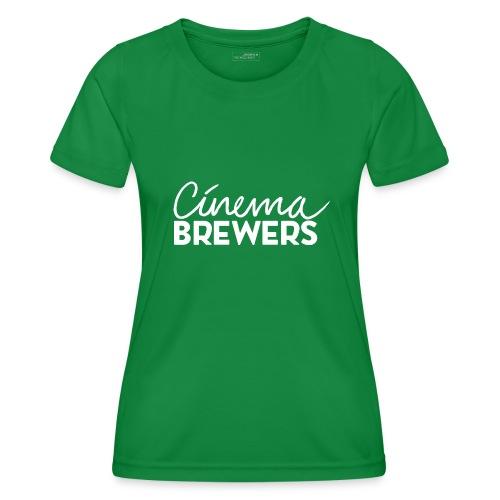 Cinema Brewers - Functioneel T-shirt voor vrouwen
