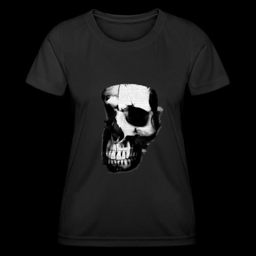 teschio darktrasp - Maglietta sportiva per donna