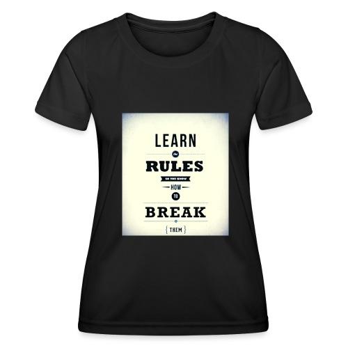 RULES - Functioneel T-shirt voor vrouwen