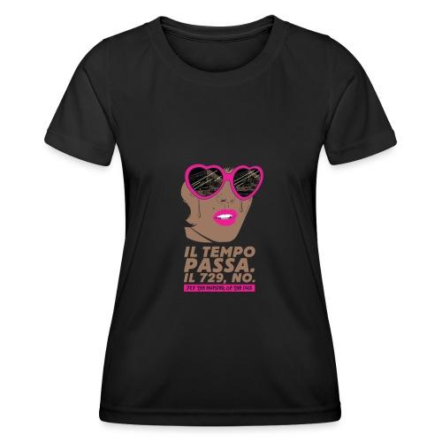 729 scuro Copy Tempo - Maglietta sportiva per donna