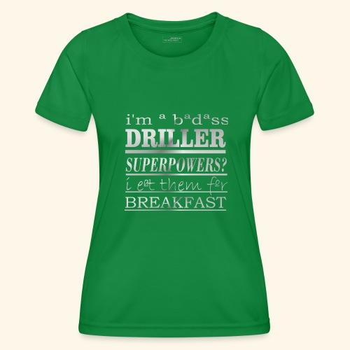DRILLER - Maglietta sportiva per donna