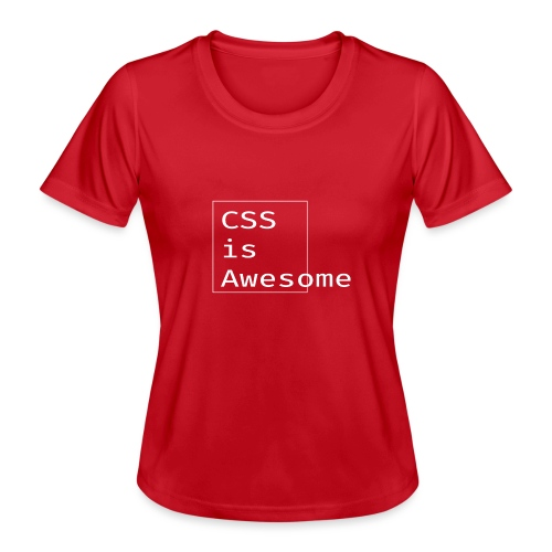 cssawesome - white - Functioneel T-shirt voor vrouwen