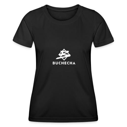 Logo White Basic - Camiseta funcional para mujeres