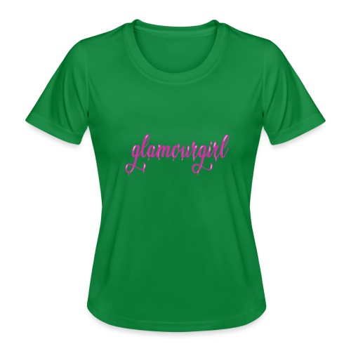 Glamourgirl dripping letters - Functioneel T-shirt voor vrouwen