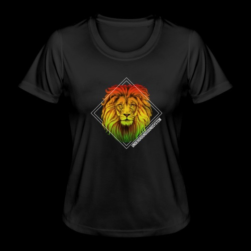 LION HEAD - UNDERGROUNDSOUNDSYSTEM - Frauen Funktions-T-Shirt