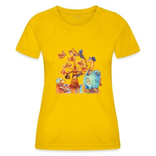 Dinosauro buono - Maglietta sportiva per donna