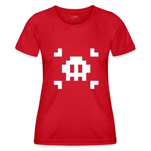 Pixel Skull - T-shirt sport Femme