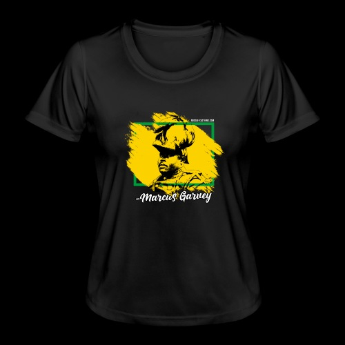 MARCUS GARVEY by Reggae-Clothing.com - Frauen Funktions-T-Shirt