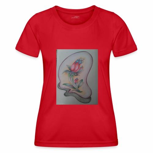 fiore magico - Maglietta sportiva per donna
