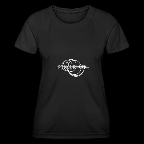 Pinque AEM Bianco - Maglietta sportiva per donna