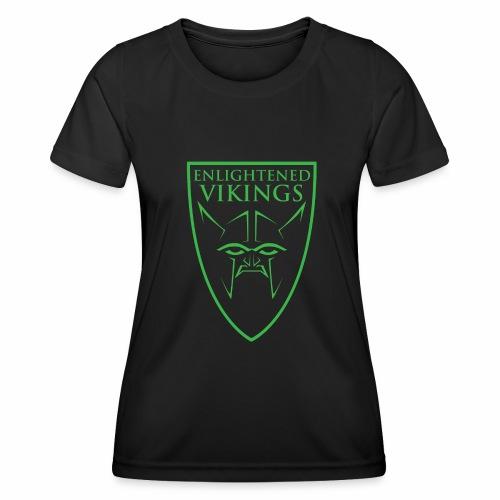 Enlightened Vikings (Org) - Funksjons-T-skjorte for kvinner