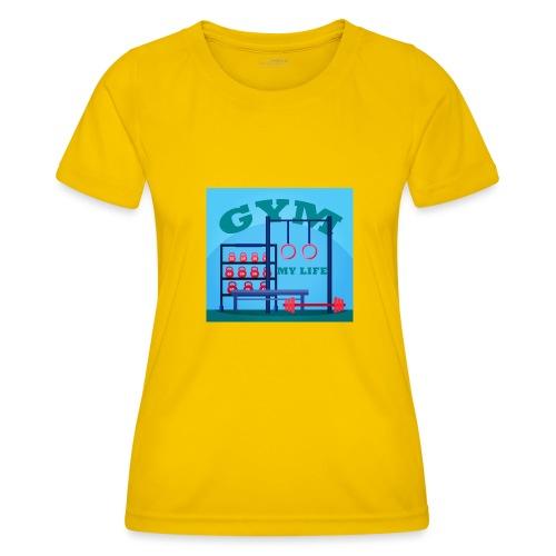 GYM - Naisten tekninen t-paita