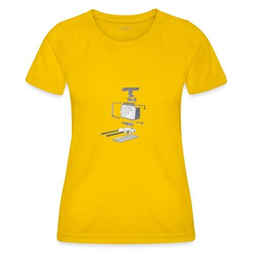 VivoDigitale t-shirt - Blackmagic - Maglietta sportiva per donna