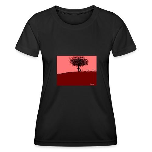 albero_0001-jpg - Maglietta sportiva per donna