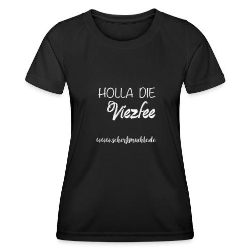 Viezfee - Frauen Funktions-T-Shirt