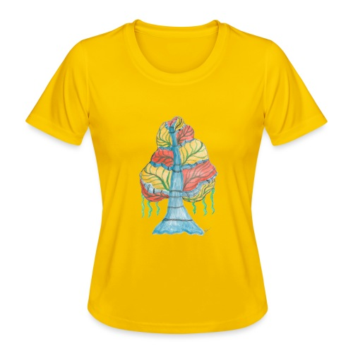 albero_alma_2015 - Maglietta sportiva per donna