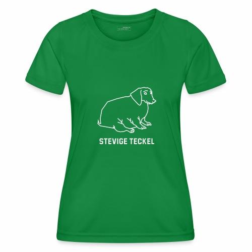 Stevige Teckel - Functioneel T-shirt voor vrouwen