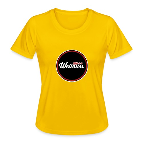 Wellouss Fan T-shirt   Rood - Functioneel T-shirt voor vrouwen