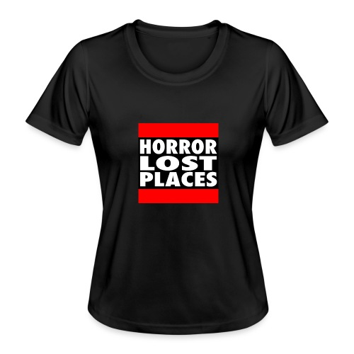 Horror Lost Places - Frauen Funktions-T-Shirt