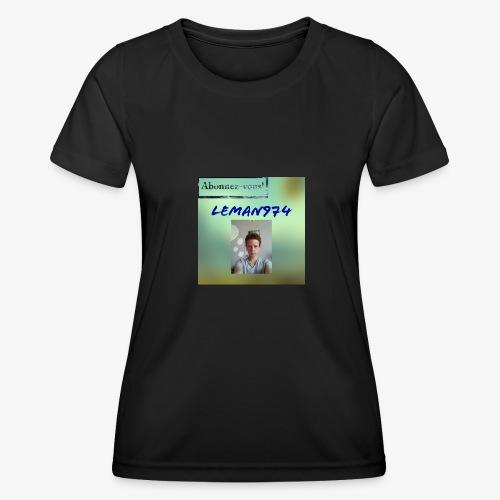 Leman974 logo - T-shirt sport Femme