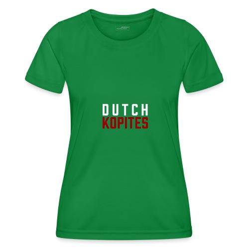Dutch Kopites - Functioneel T-shirt voor vrouwen