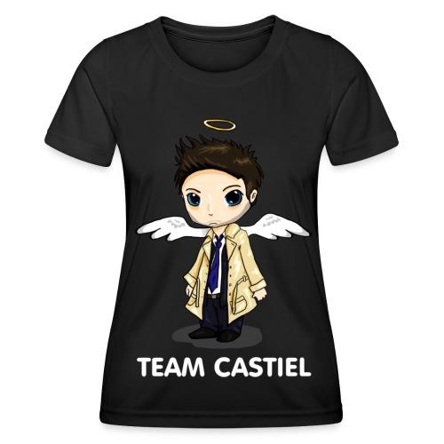 Team Castiel (dark) - Women's Functional T-Shirt