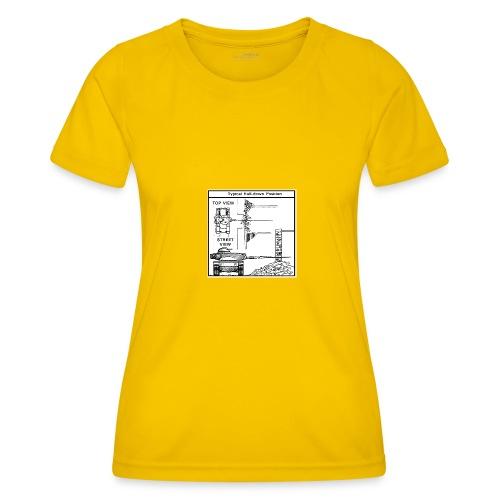 W.O.T War tactic, tank shot - Women's Functional T-Shirt