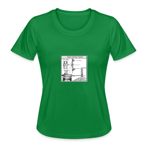 W.O.T War tactic, tank shot - Women's Functional T-Shirt