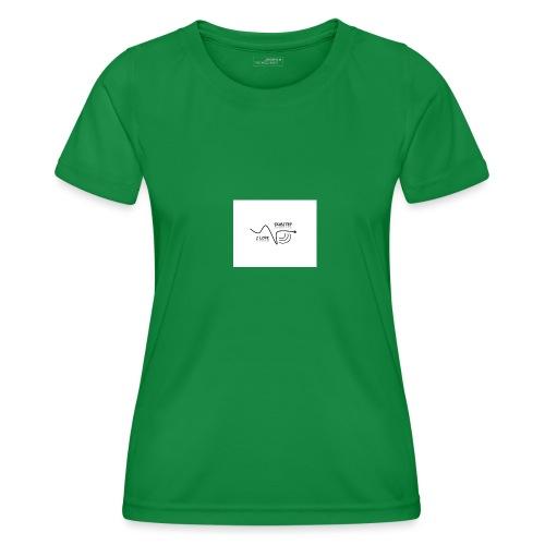 I_LOVE_DUBSTEP - Camiseta funcional para mujeres